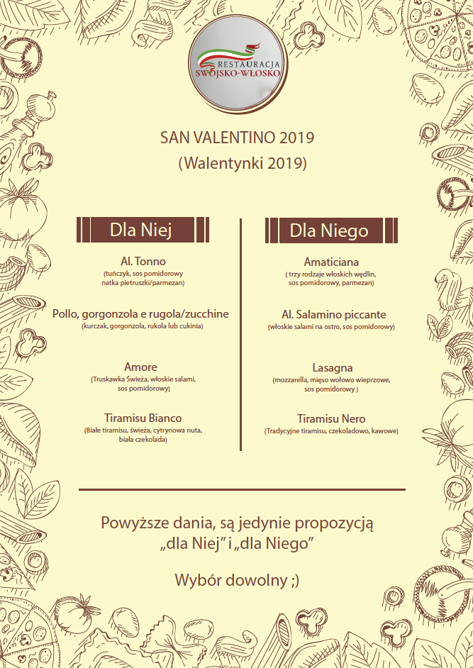 restauracja-swojsko-włosko-walentynki