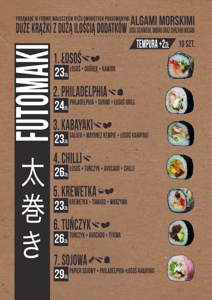 menu-sushi-zduńska-wola-futomaki
