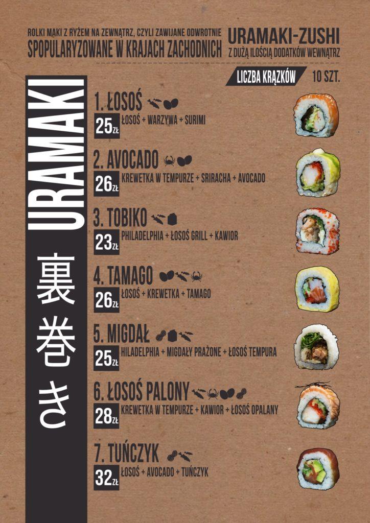 menu-sushi-zduńska-wola-uramaki